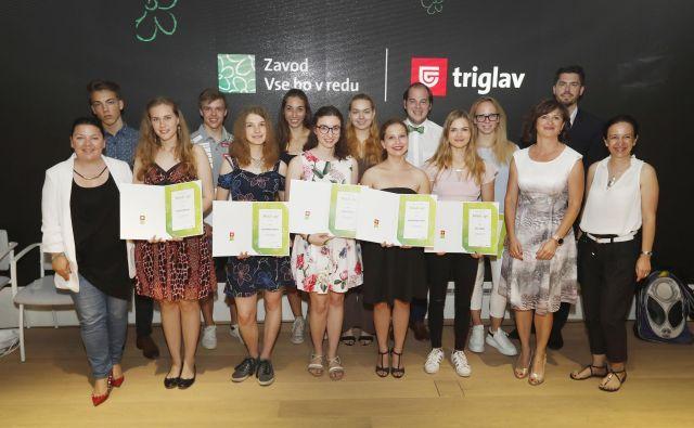 Podelitev nagrad trinajst Mladim upom. FOTO: Leon Vidic/Delo