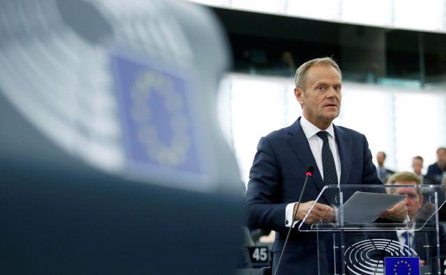 Sklicatelj evropskega vrha Donald Tusk si želi, da bi kadrovanje potekalo gladko. FOTO: Reuters