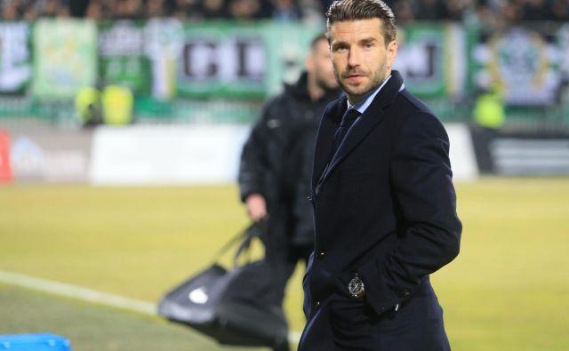 Luka Elsner je drugi slovenski trener v eni od petih najmočnejših evropskih lig. FOTO: Tadej Regent/Delo