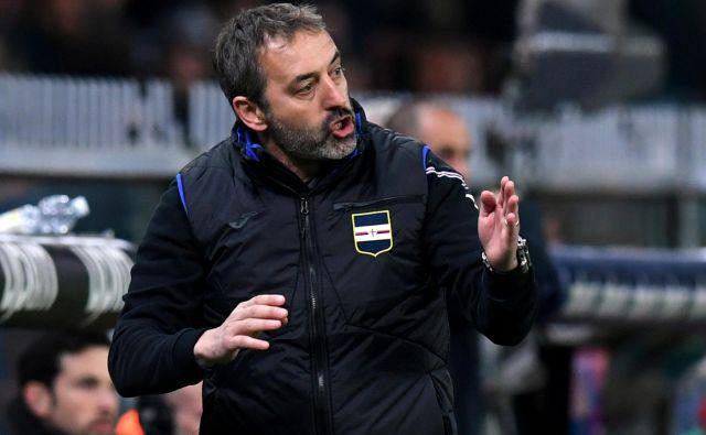 Marco Giampaolo bo sedel na vroči trenerski stolček v Milanu. FOTO: Reuters