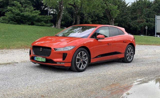 Jaguari I-pace krepi električno ponudbo za premožne kupce. Foto Blaž Kondža