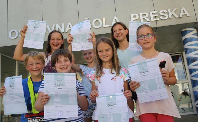 Osnovna šola Preska Medvode. FOTO: Tomi Lombar/Delo