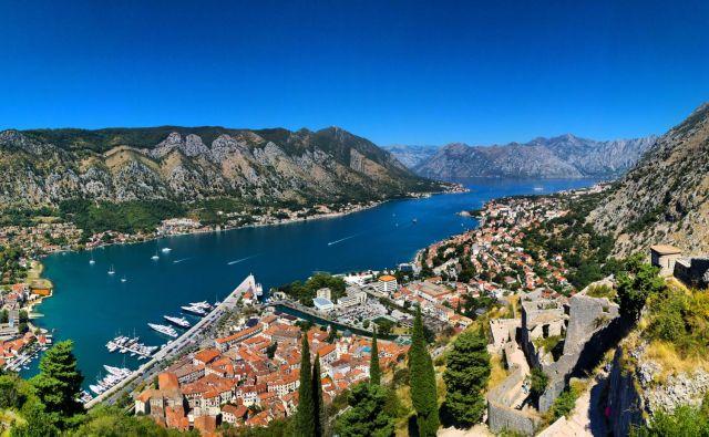 Pogled na zaliv Boka Kotorska. FOTO: Shutterstock