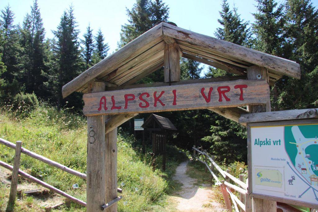 Alpski vrt Golte
