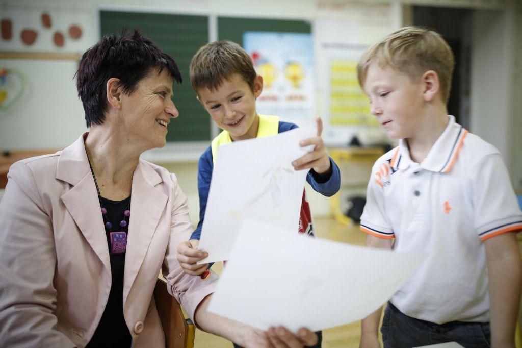 FOTO:Pred plačo bi učitelji izbrali dodatno izobraževanje
