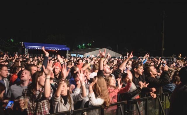 Gora rocka v treh dneh privabi okrog 10.000 obiskovalcev. FOTO: Sani Može