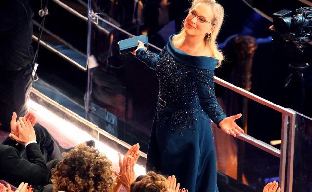 89th Academy Awards - Oscars Awards Show - Hollywood, California, U.S. - 26/02/17 - Actress Meryl Streep reacts. REUTERS/Lucy Nicholson - HP1ED2R0539CB Foto Lucy Nicholson Reuters