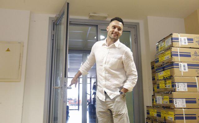Luka Žvižej je zaprl ena vrata in stopil skozi druga, čakajo ga novi izzivi. FOTO: Mavric Pivk