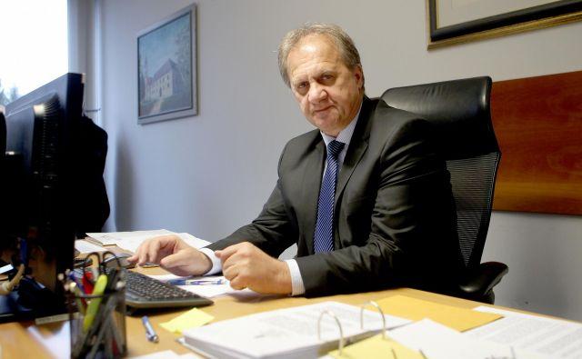 »Nisem zagovornik zvišanja stopnje obdavčitve dobička pravnih oseb, saj menim, da je že trenutna 19-odstotna davčna stopnja neprimerna. Sam zagovarjam 15-odstotno in s tem več davčnih zavezancev, predvsem tujih vlagateljev, ki ustvarijo večje dobičke,« pravi Ivan Simič. Foto Roman Šipić
