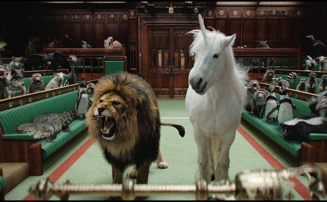 V oglasni kampanji za časnika The Times in The Sunday Times so prikazali angleške politike ob brexitu kot živali v živalskem vrtu. Slednje je privabilo nove naročnike. Foto: framestore.com