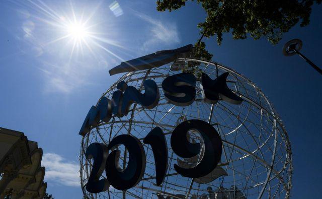 Minsk gosti druge evropske igre, potem ko je organizacijo preklicala Nizozemska. FOTO AFP