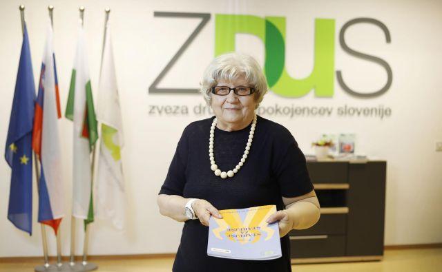 Od leta 2004 do 2017 je bilo opravljenih skoraj osem milijonov ur prostovoljnega dela v programu Starejši za starejše, ki je ovrednoteno na skoraj 50 milijonov evrov, pravi Rožca Šonc, vodja programa. Foto Leon Vidic