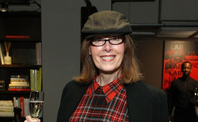 E.Jean Carroll na prireditvi revije Elle leta 2015. FOTO: Astrid Stawiarz/Afp