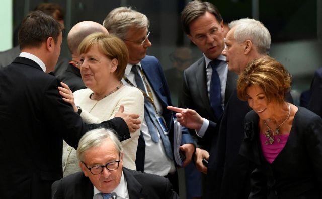 To, da je središče moči na ravni EU v evropskem svetu, ki združuje voditelje članic, bo za marsikaterega parlamentarca vnovično boleče spoznanje. Foto: Reuters