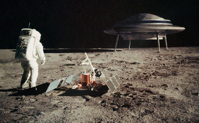 Številni tudi po 50 letih in kopici prepričljivih dokazov, da je človek stopil na Luno, tega ne verjamejo. FOTO: Shutterstock