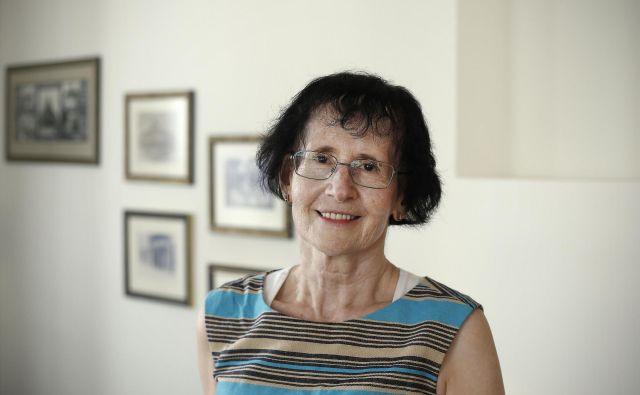 Prof. dr. Marija Strojnik je v Ljubljani končala klasično gimnazijo z osmimi leti latinščine in dvema letoma grščine. Foto Blaž Samec