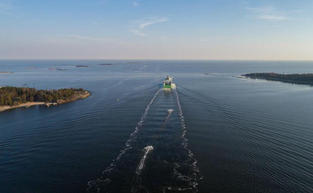 Med Helsinki in Talinom danes vozi tudi do 18 trajektov na dan, že v nekaj letih pa bi lahko mesti povezal velikopotezen infrastrukturni projekt Petra Vesterbacke. FOTO: Shutterstock