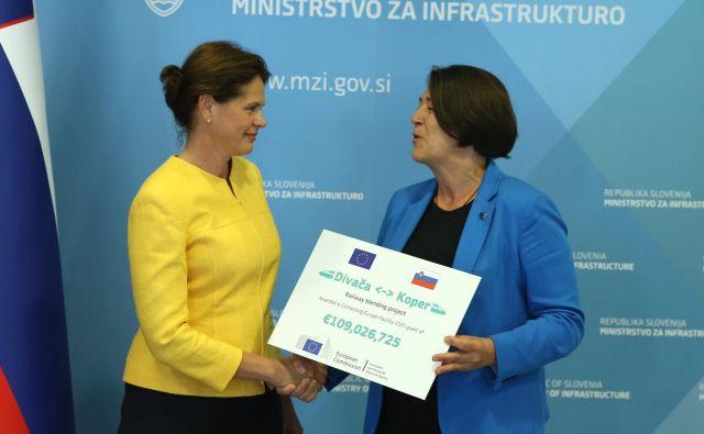 Evropska komisija je skupno za drugi tir doslej namenila 153 milijonov evrov. FOTO: Jože Suhadolnik/Delo