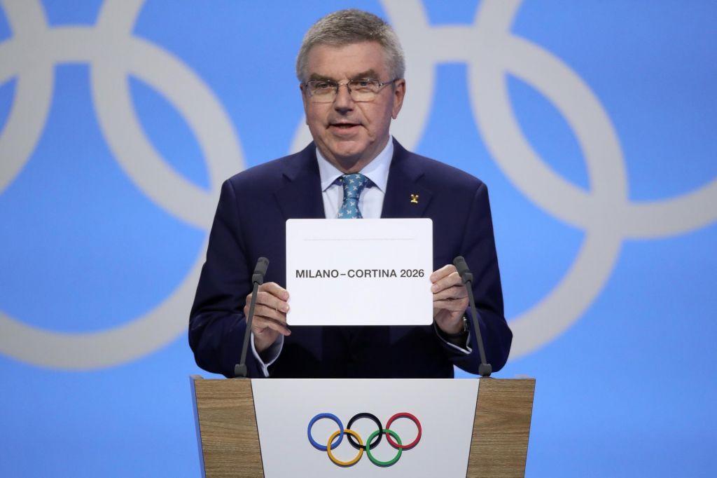 Zimske olimpijske igre 2026 v Italiji Milano-Cortina