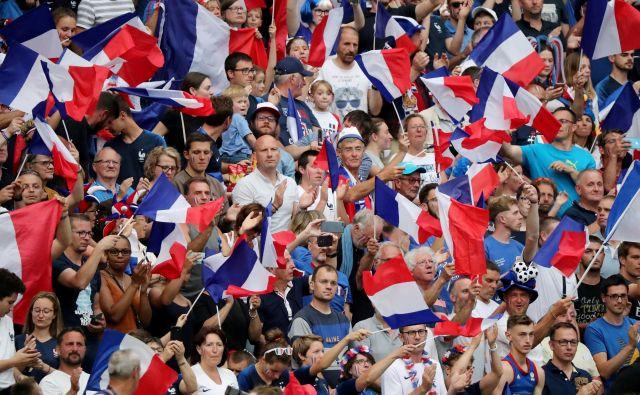 Svetovno prvenstvo na domačih tleh je Francozinje spremenilo v nacionalne junakinje, s katerimi živi in diha vsa država. FOTO: Reuters