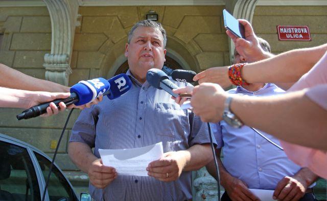 Vodja Sektorja kriminalistične policije PU Maribor Andrej Kolbl. FOTO: Tadej Regent/Delo