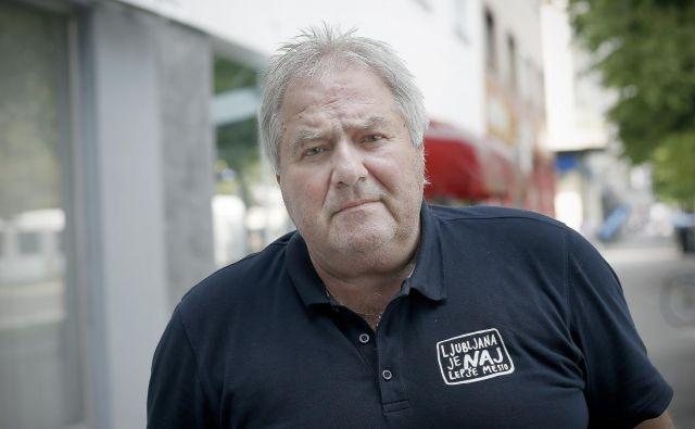 Ivo Milovanović je dolgoletni športni komentator TV Slovenija.<br /> FOTO: Blaž Samec