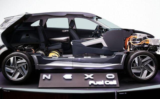 Hyundai nexo je najnovejši med sicer zelo redkimi modeli na gorivne celice. FOTO: Hyundai
