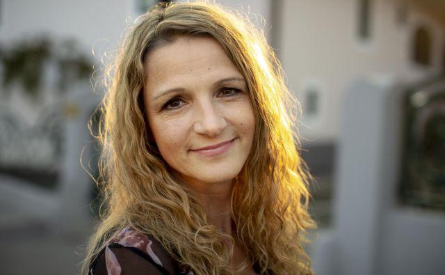 Bronja Žakelj, letošnja dobitnica nagrade kresnik za roman Belo se pere na devetdeset (založba Beletrina) Foto: Voranc Vogel/Delo