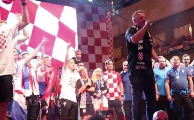 Upravno sodišče je na široko odprlo vrata vnovičnemu poskusu organizacije koncerta hrvaškemu glasbeniku z nacionalističnimi izpadi Marku Perković Thompsonu v Sloveniji. FOTO: Zaslonska Slika