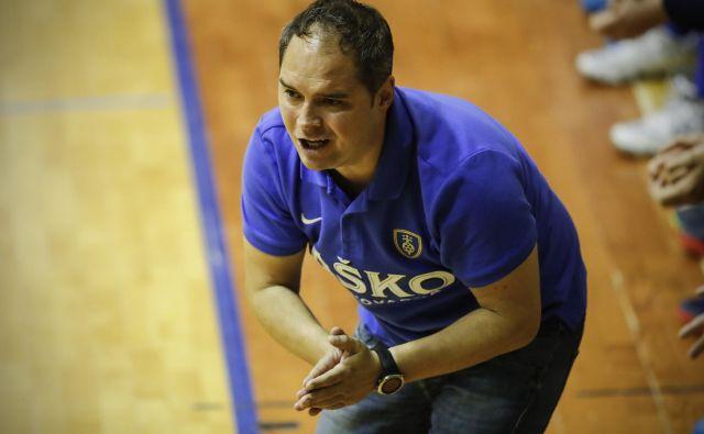 Branko Tamše, nekdanji trener ekipe Celja Pivovarne Laško, bo v prihodnji sezoni dvorano Zlatorog obiskal kot trener Zagreba. FOTO: Uroš Hočevar/Delo