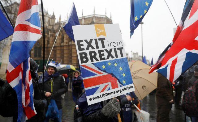 Slovenija bi izvoz v Združeno kraljestvo lahko nadomestila s povečanjem izvoza v EU in druge države sveta. Foto Peter Nicholls Reuters