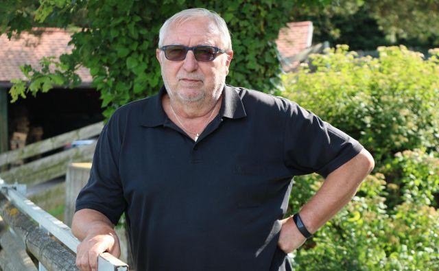 Rudi Cipot je soboško enoto Zavarovalnice Triglav vodil dve desetletji. FOTO: Jože Pojbič/Delo