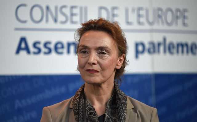 Marija Pejčinović Burić je postala druga ženska na čelu Sveta Evrope. FOTO: Patrick Hertzog/AFP