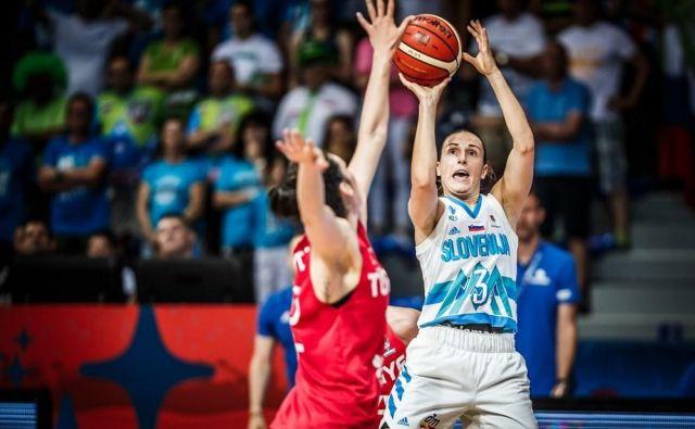 Teja Oblak je 11. strelka letošnjega EP. FOTO: FIBA