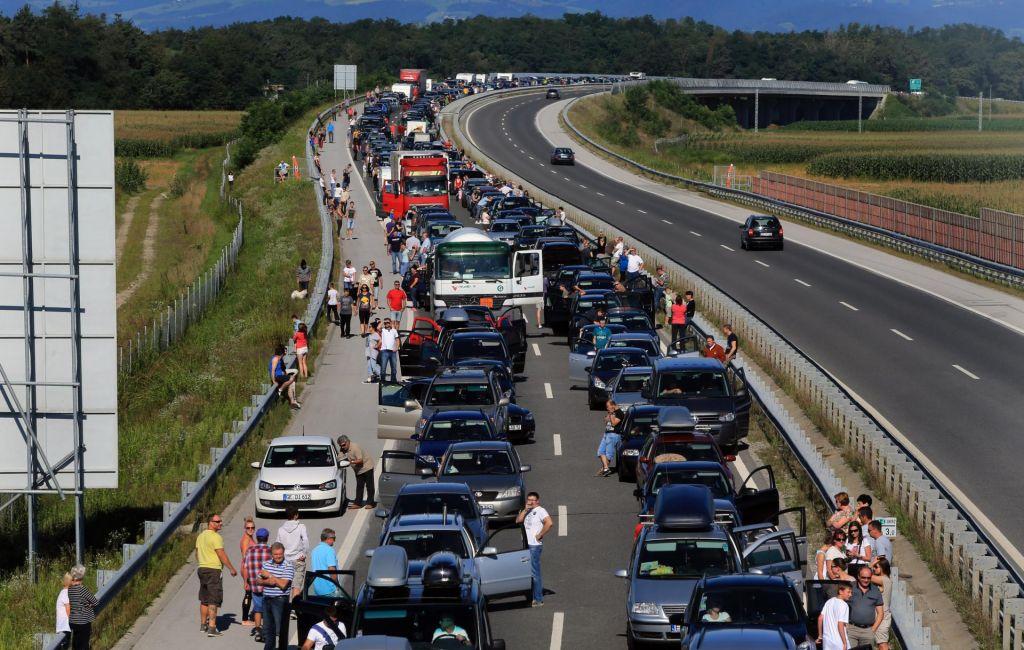 FOTO:Cesta Bled–Lesce znova odprta