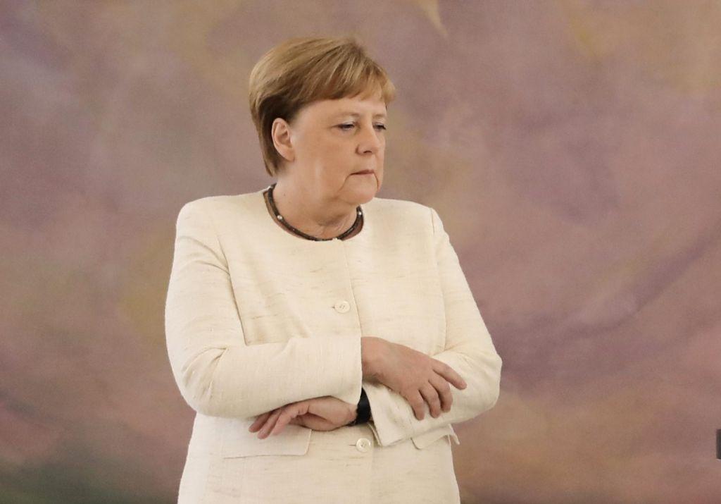 Kanclerka znova pod drobnogledom zaradi hudega tresenja