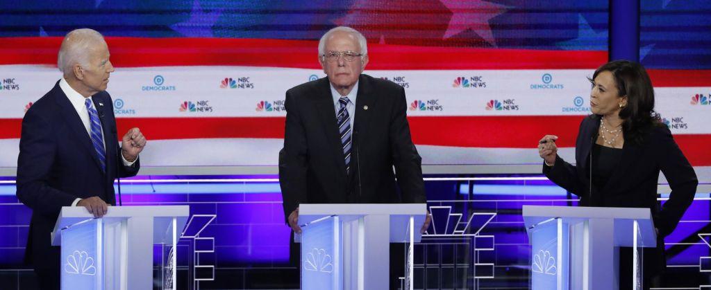 Še drugo televizijsko soočenje demokratskih predsedniških kandidatov