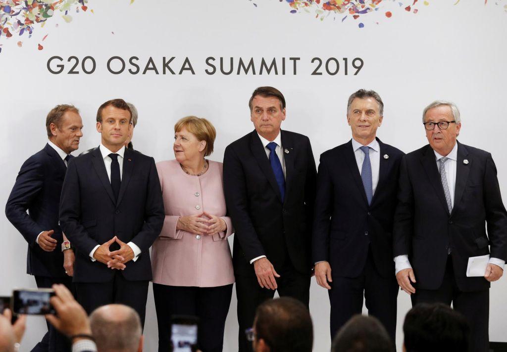 FOTO:Članice G20 brez ZDA potrdile zavezanost pariškemu sporazumu