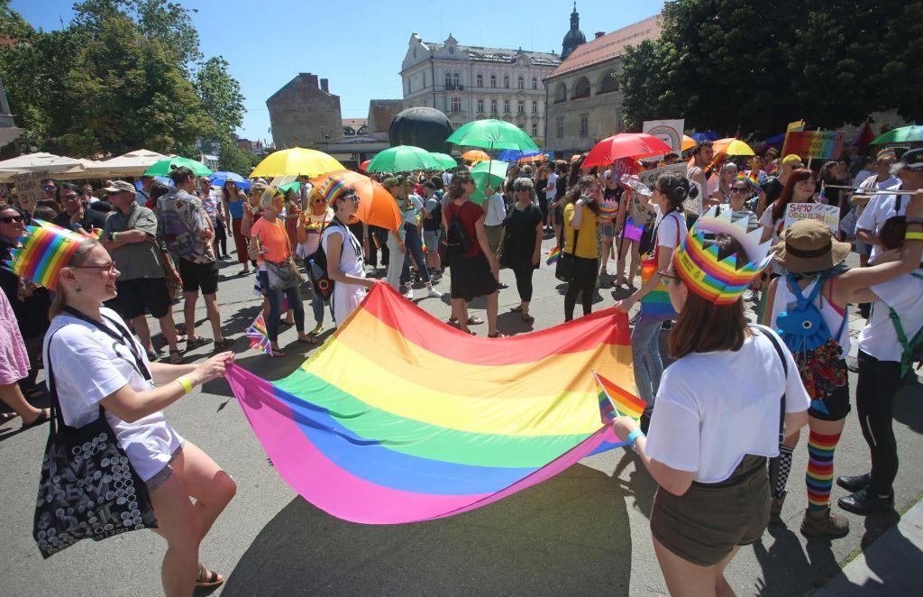 FOTO:Parada ponosa prvič tudi v Mariboru