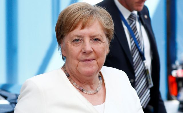 Nemška kanclerka Angela Merkel je bila znotraj EPP bolj ali manj osamljena. Je v ozadju le pogajalska strategija?Foto: Francois Lenoir/Reuters