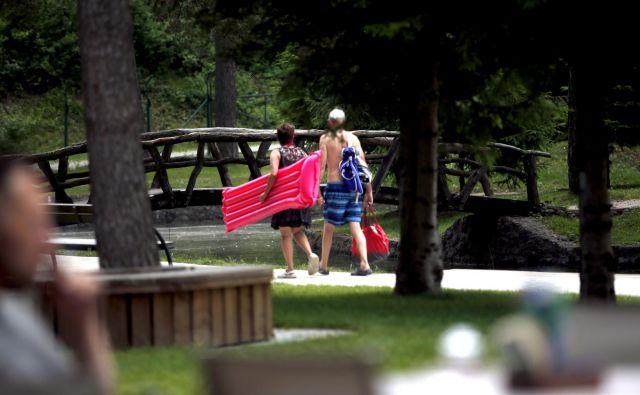 Priljubljeni kamp Šobec bo dobil konkurenco. FOTO: Roman Šipić/Delo