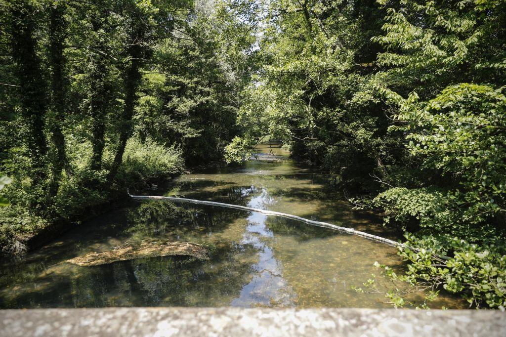 Voda v zaledju izvira Rižane ni onesnažena