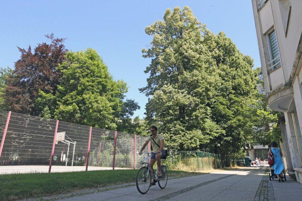 Stanovanjska vila namesto zelenega parka v središču Ljubljane