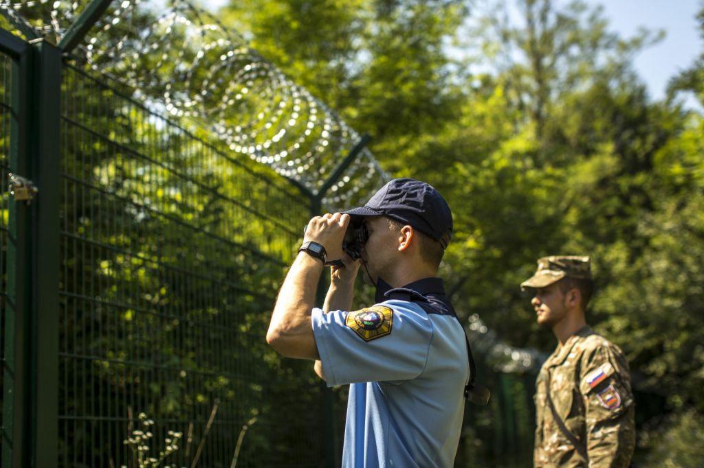 Slovenci ob meji odločno proti ograji
