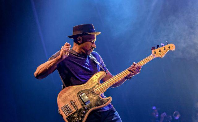 Marcus Miller, vrhunski mojster basitare.<br /> Foto: Thierry Dubuc