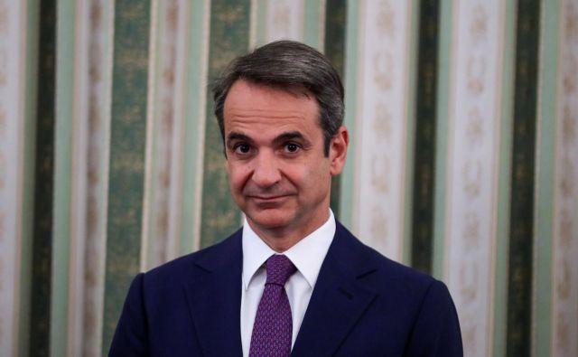 Kiriakos Micotakis, novi grški premier FOTO: Reuters