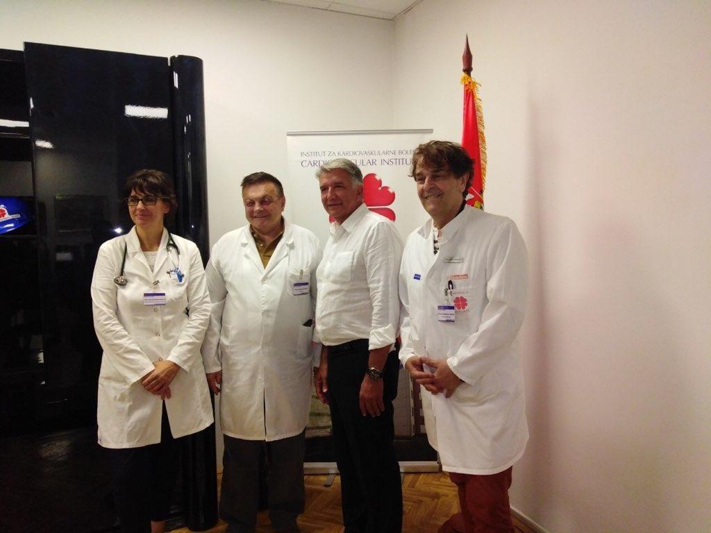 Predstojnik prof. dr. Klokočovnik zapušča UKC in odhaja v Beograd