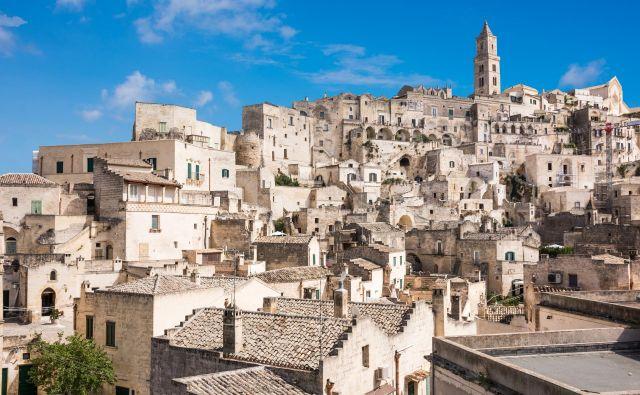 Mesto Matera na jugu Italije. FOTO: Shutterstock