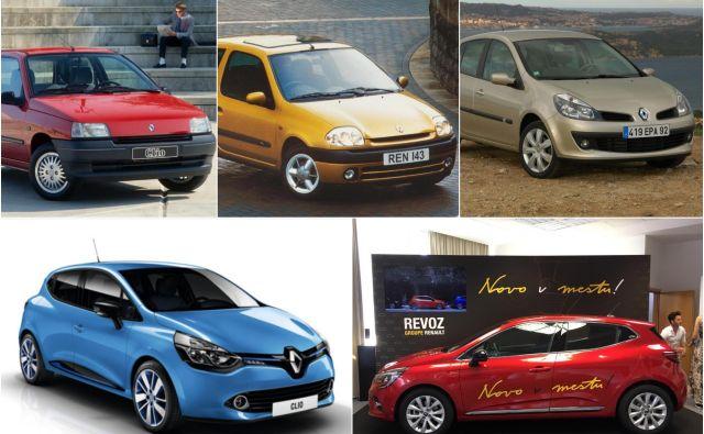 Od starega do novega ... FOTO: Renault/Jože Suhadolnik