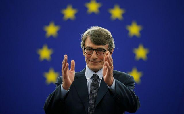 Novi predsednik evropksega parlamentaDavid-Maria Sassoli. Foto:Vincent Kessler/Reuters